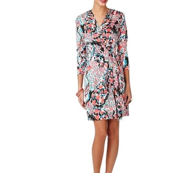 e9873a06c96133 Lilly Pulitzer Dresses | Anjelica Faux Wrap Dress Xs Euc | Poshmark